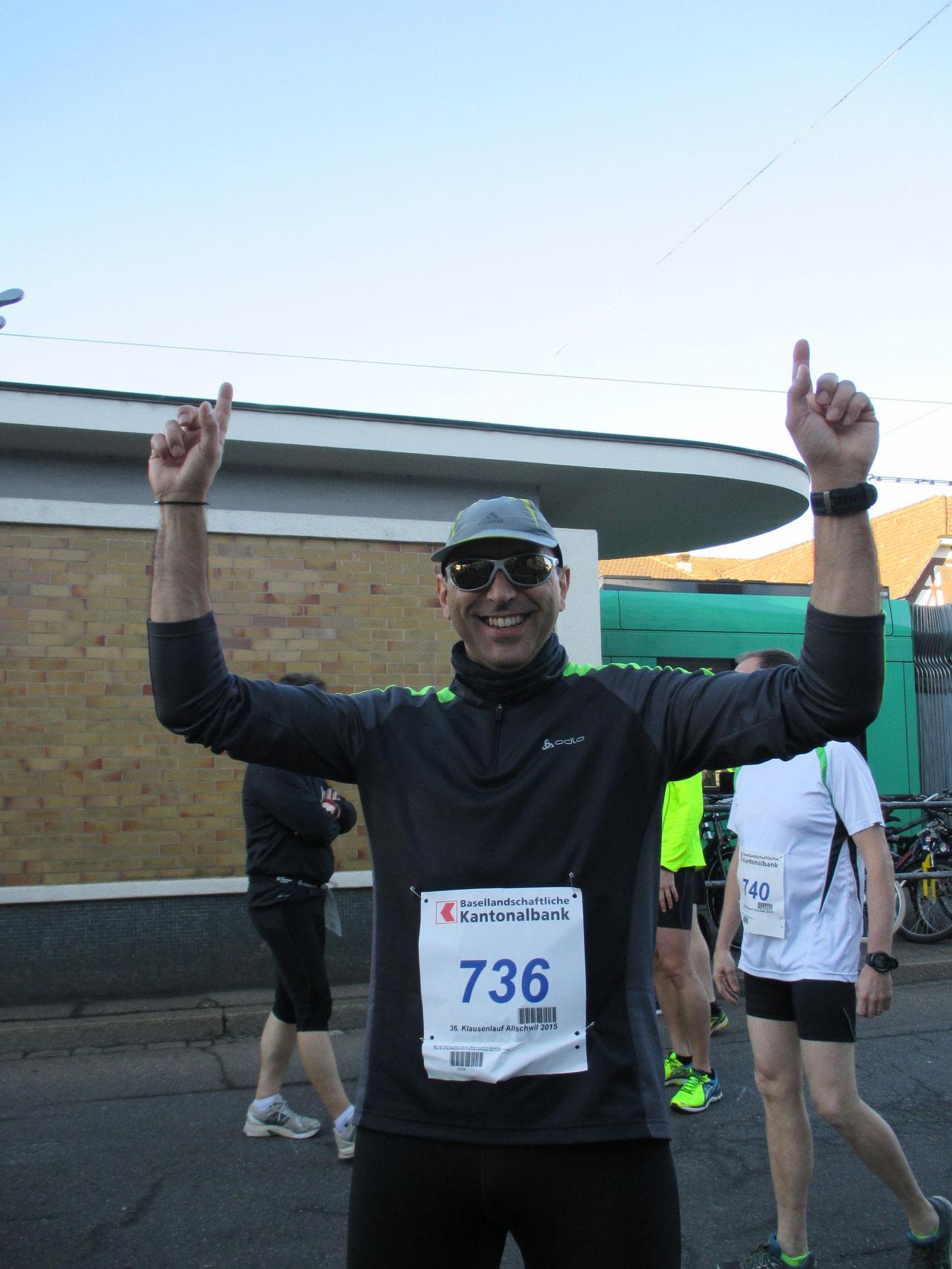 10.2 Kilometer Klausenlauf Allschwil 2015