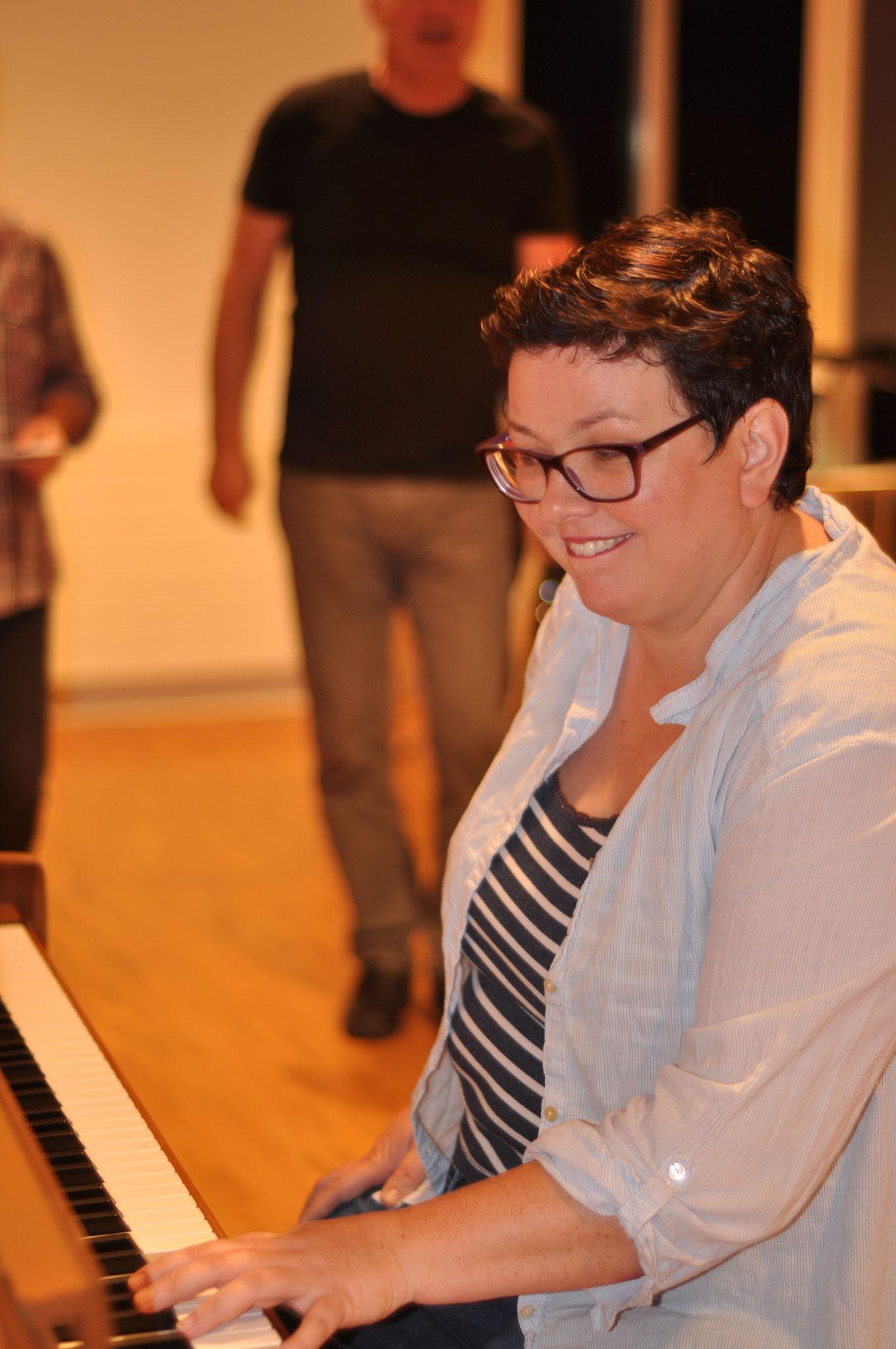 Unsere Dirigentin Heidi Schluep
