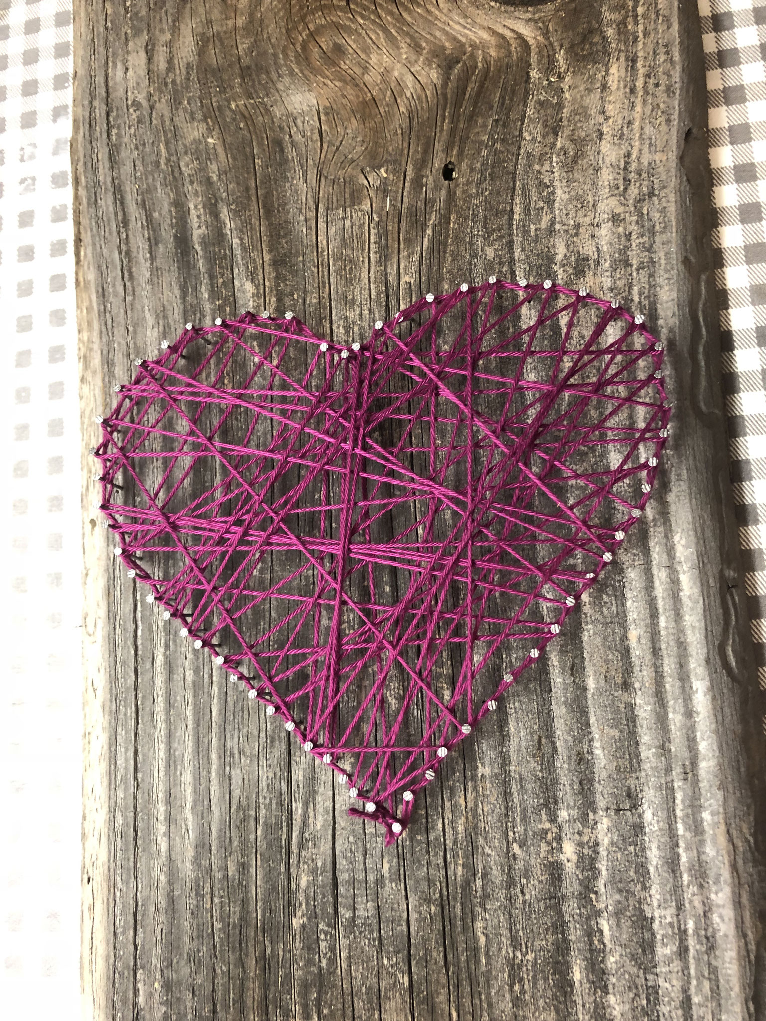 Nagelbild Herz