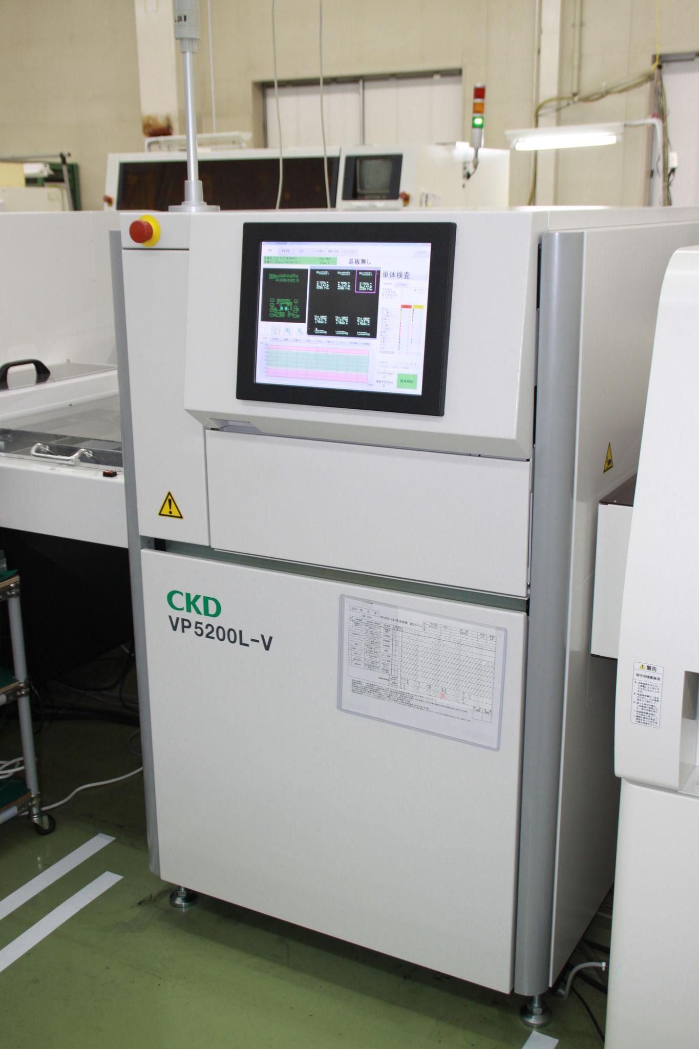 クリーム半田印刷検査機 CKD製 VP5200L-V