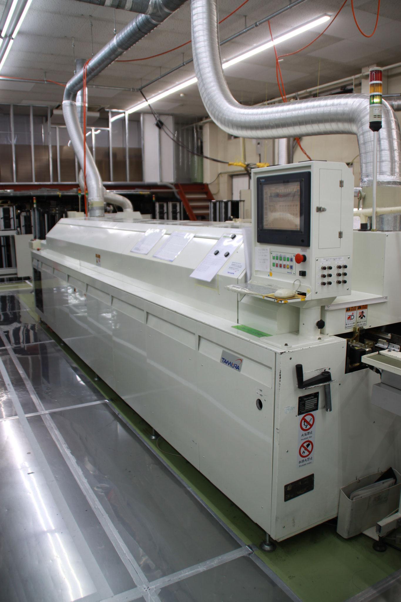 鉛フリー対応窒素リフロー炉 タムラ製 TNP30-537EN