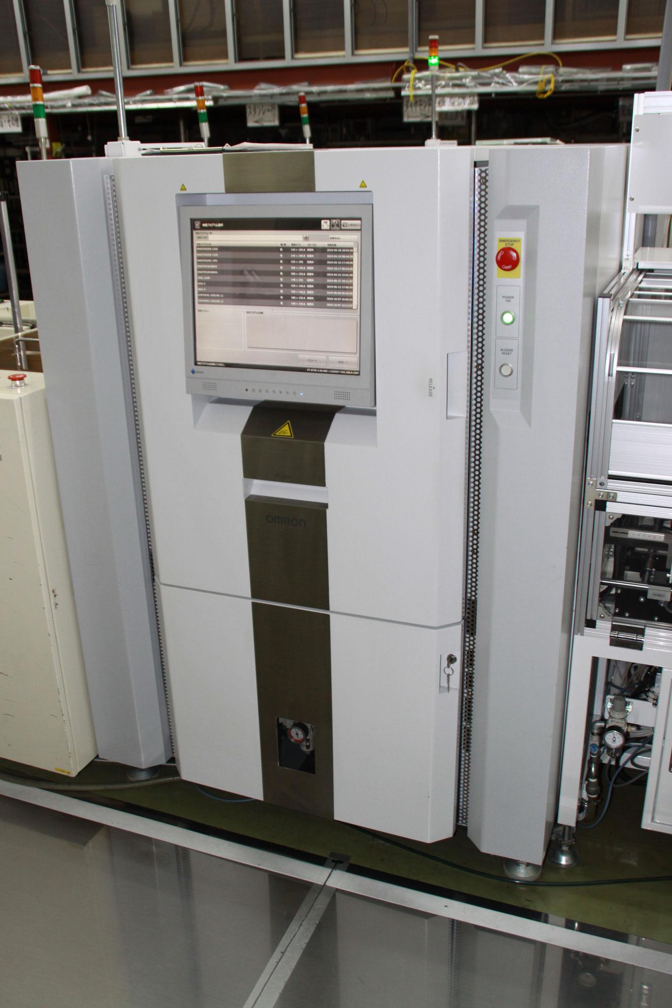 基板外観検査機 オムロン製 VT-S730