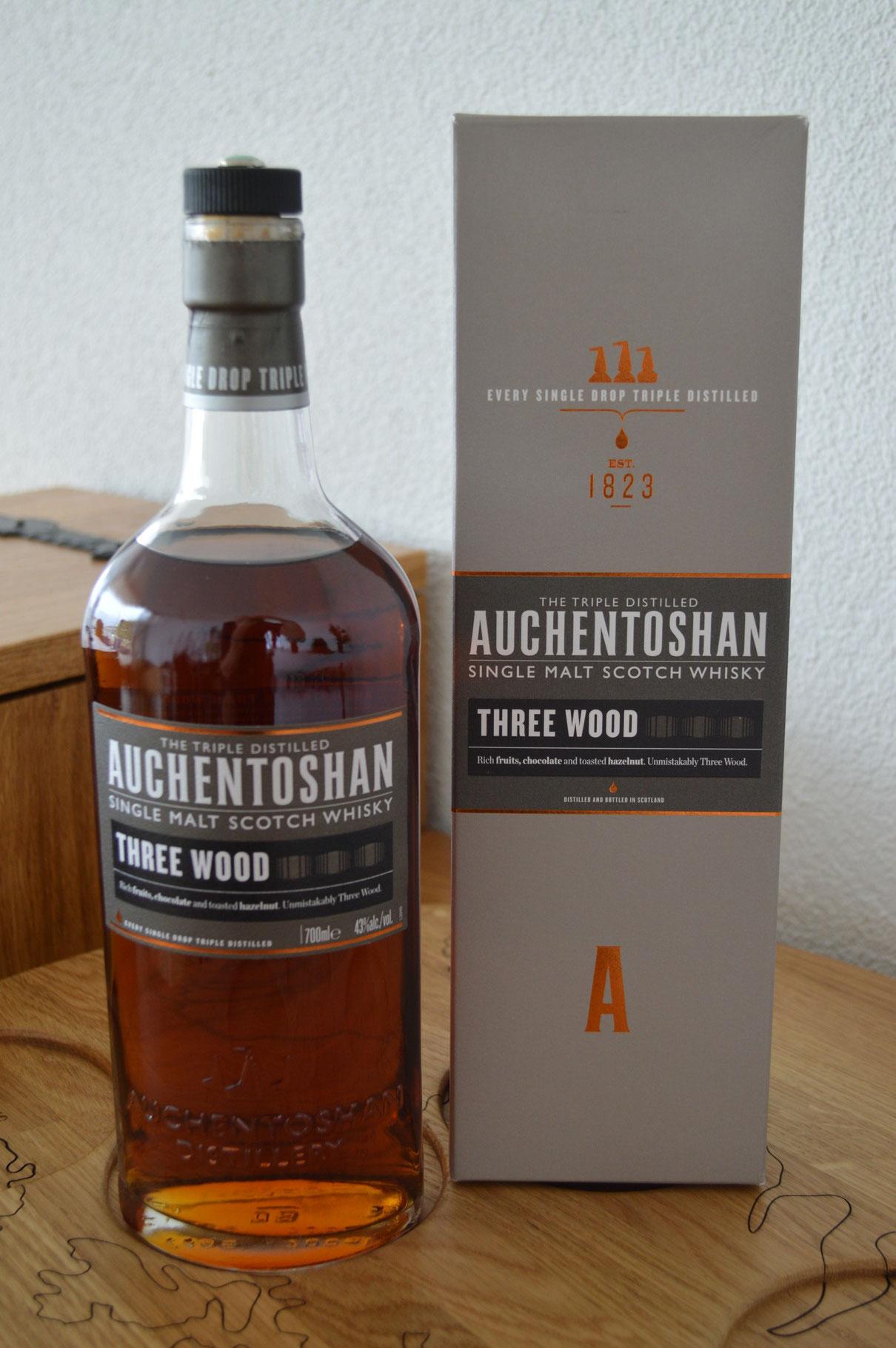 LOWLANDS - Auchentoshan* - Bottler: Original - 70cl - 46% - Three Wood
