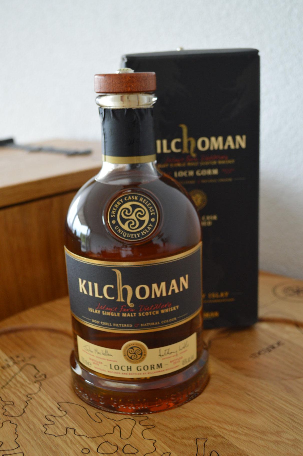 ISLAY - Kilchoman* -  Aged: 7 Jahre - 70cl - 46% - Loch Gorm