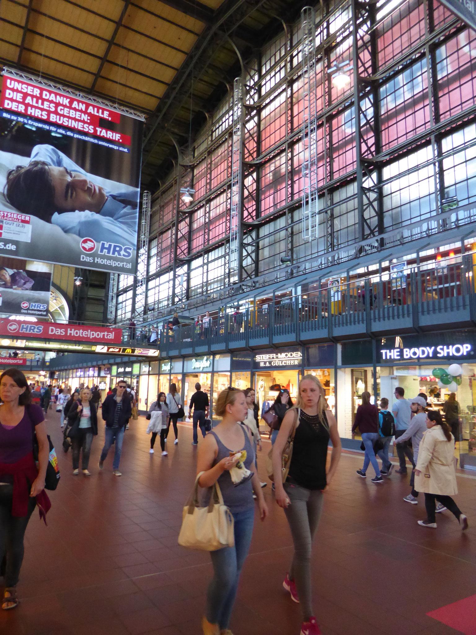 Hamburger Hauptbahnof Innenhalle