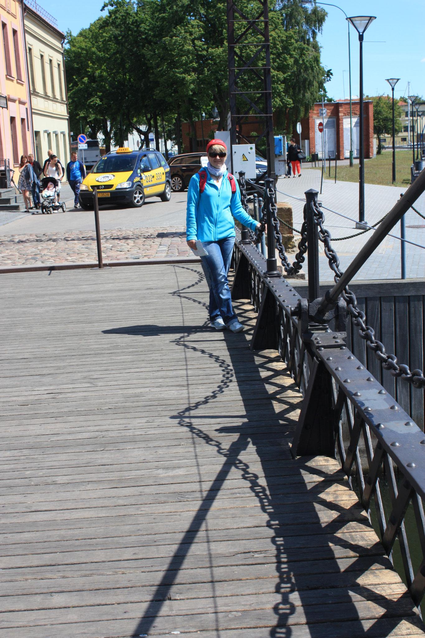 Drehbrücke....