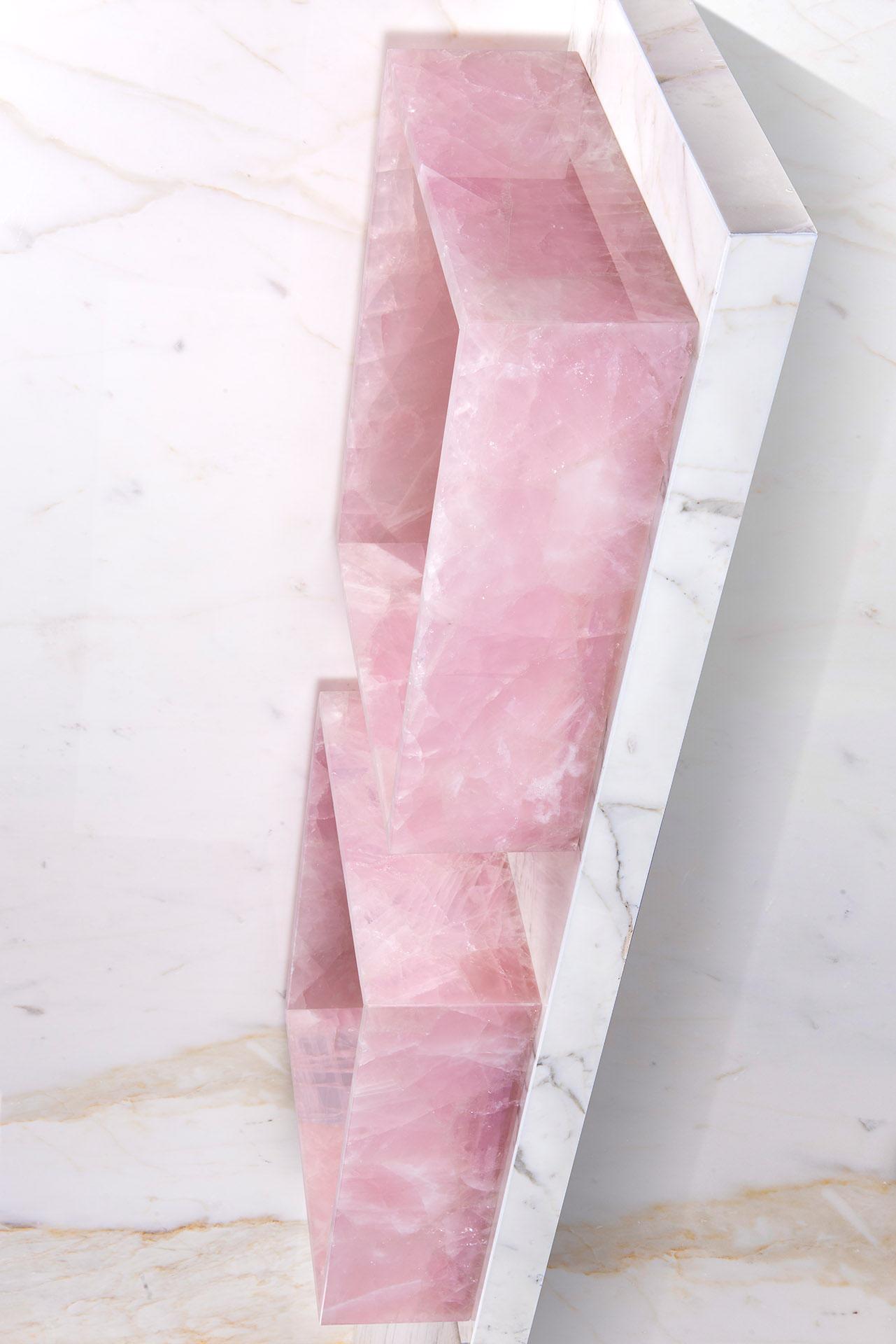 Pink Quartz bathroom  - Pure Natural Design