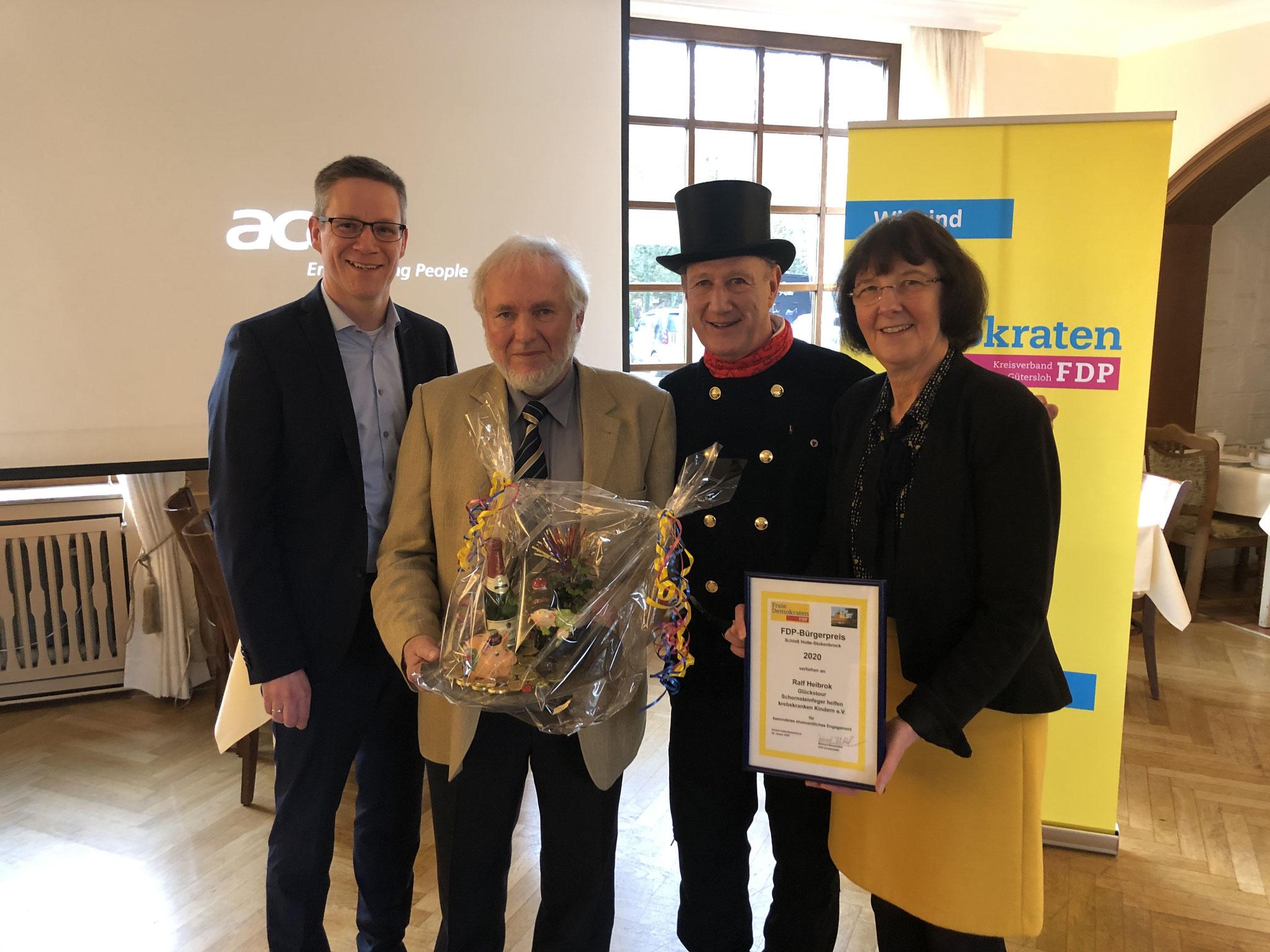 Ralf Heibrok und die Glückstour der Schornsteinfeger für ihre Hilfe für schwerkranke Kinder