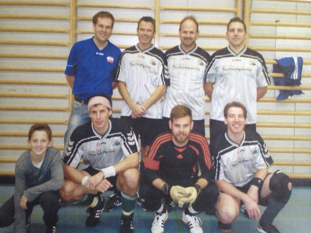 13. Int. Zugpersonal Hallenfussballturnier 3. Rang im 2014 in Luzern