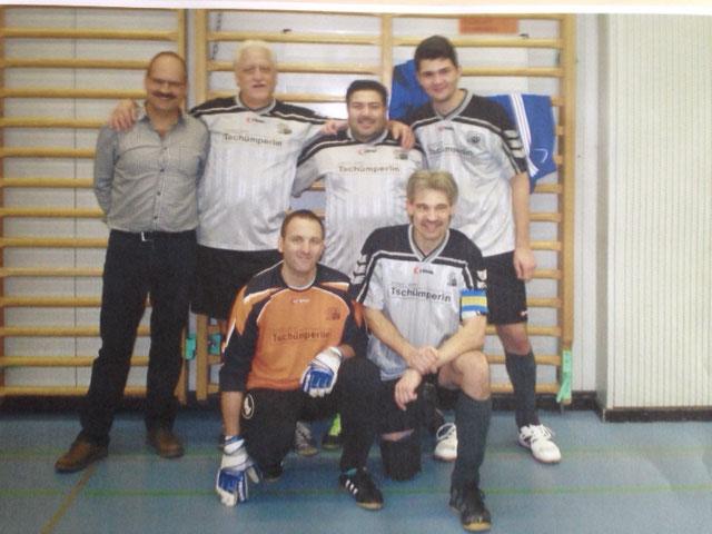 13. Int. Zugpersonal Hallenfussballturnier 7. Rang im 2014 in Luzern