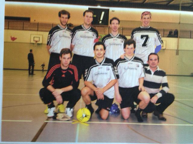 12. Int. Zugpersonal Hallenfussballturnier 1. Rang im 2013 in Luzern