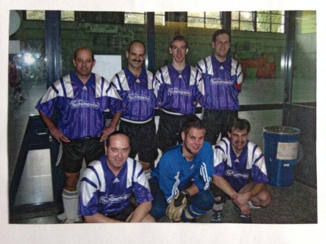 10. Hallenmasters 1. Rang und bester Torhüter vom Turnier im 2008 in Münchenstein