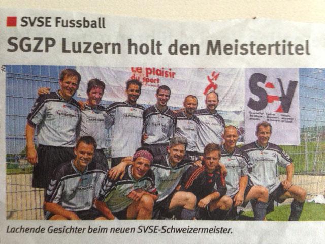 76. SVSE Schweizermeisterschaft Outdoor 1. Rang im 2014 in Jona