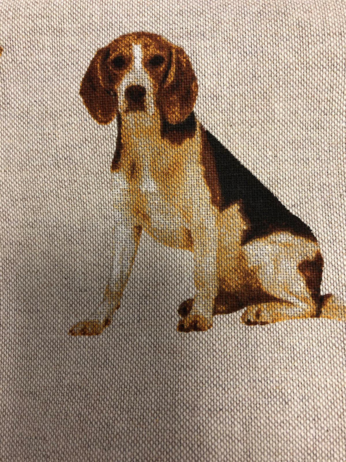 """Eddie the Beagle"" Detail"