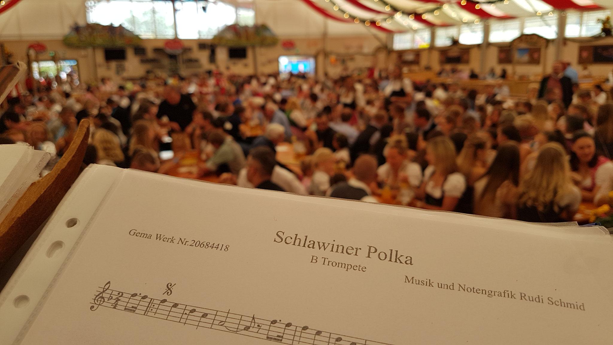 Unser neue Titel mit der Blosn. Merci Rudi Schmid  für dein Engegement!