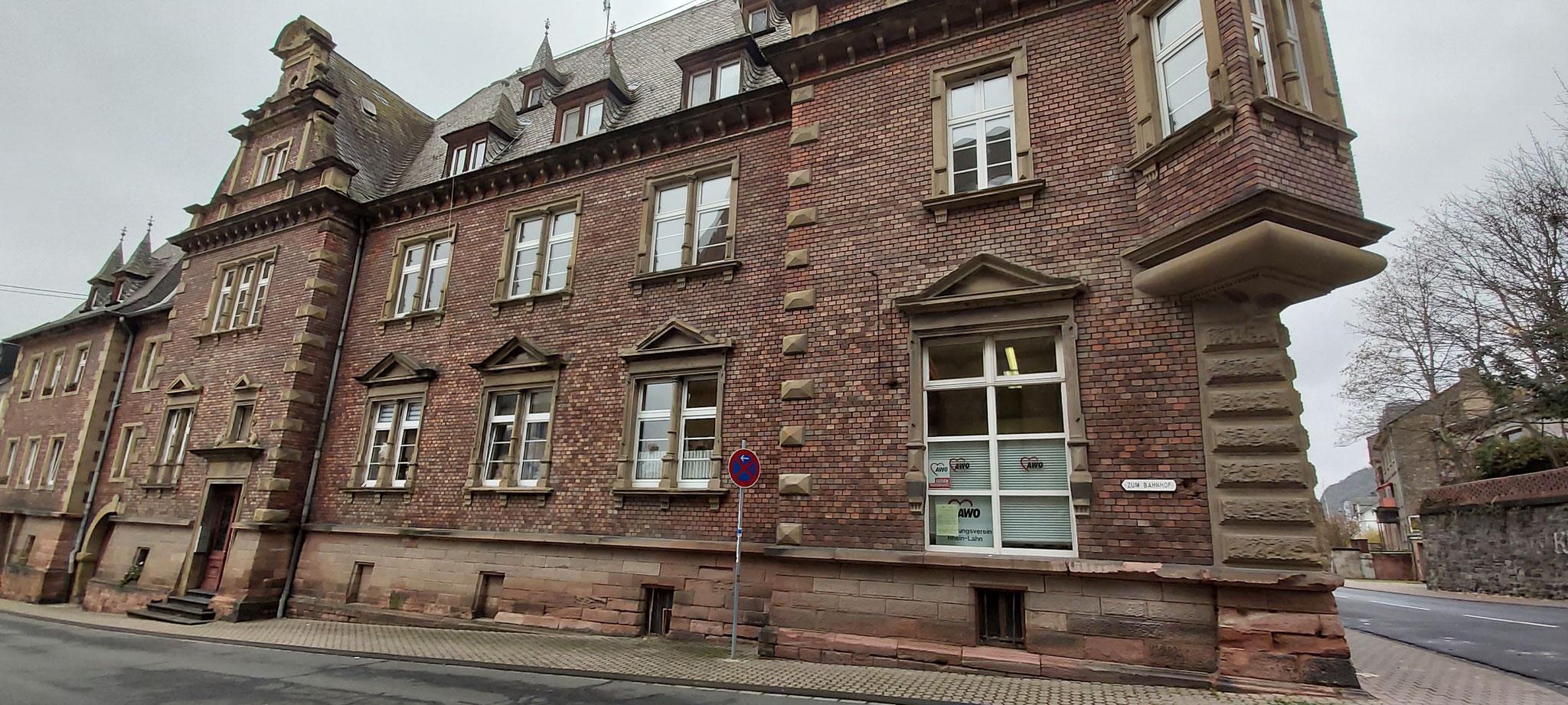 Das Kita-Provisorium - früher war hier das Braubacher Amtsgericht
