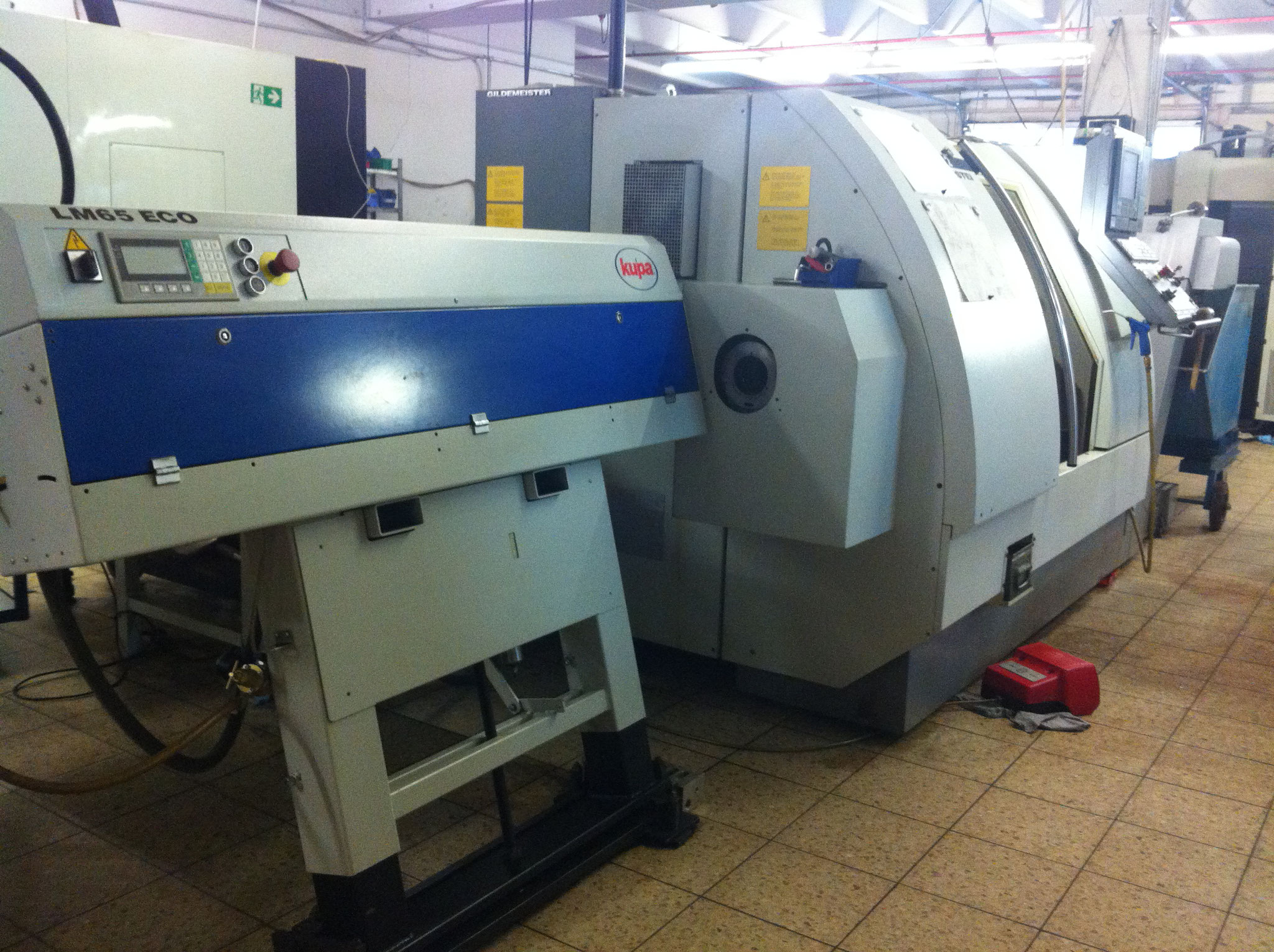 CTX 400 Gildemeister Drehmaschine