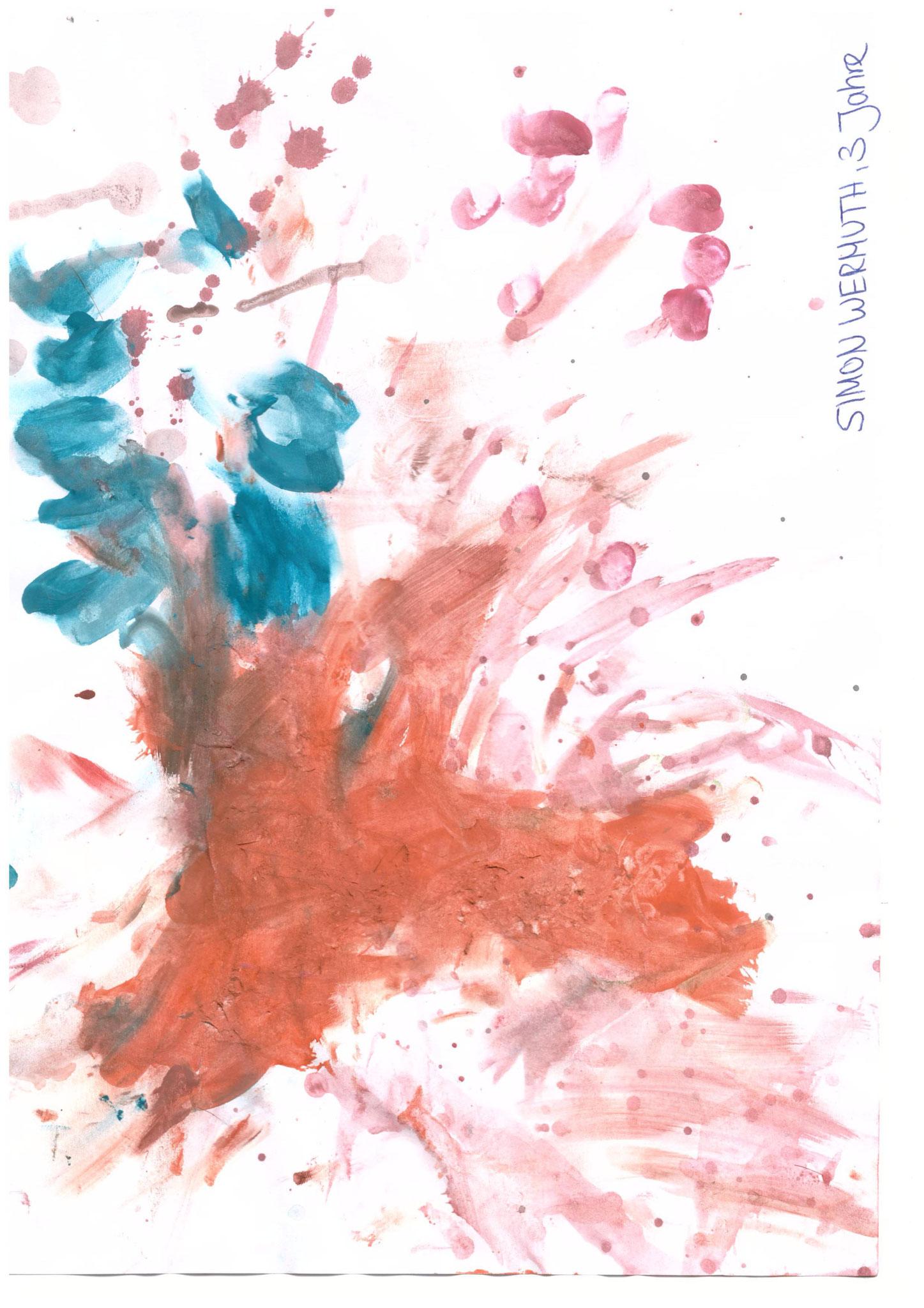 Simon Wermuth, 3 Jahre, Wolfsbuch
