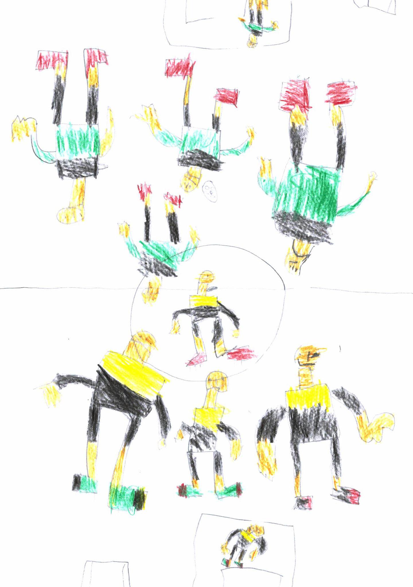 Hannes Dürr, 6 Jahre, Wolfsbuch