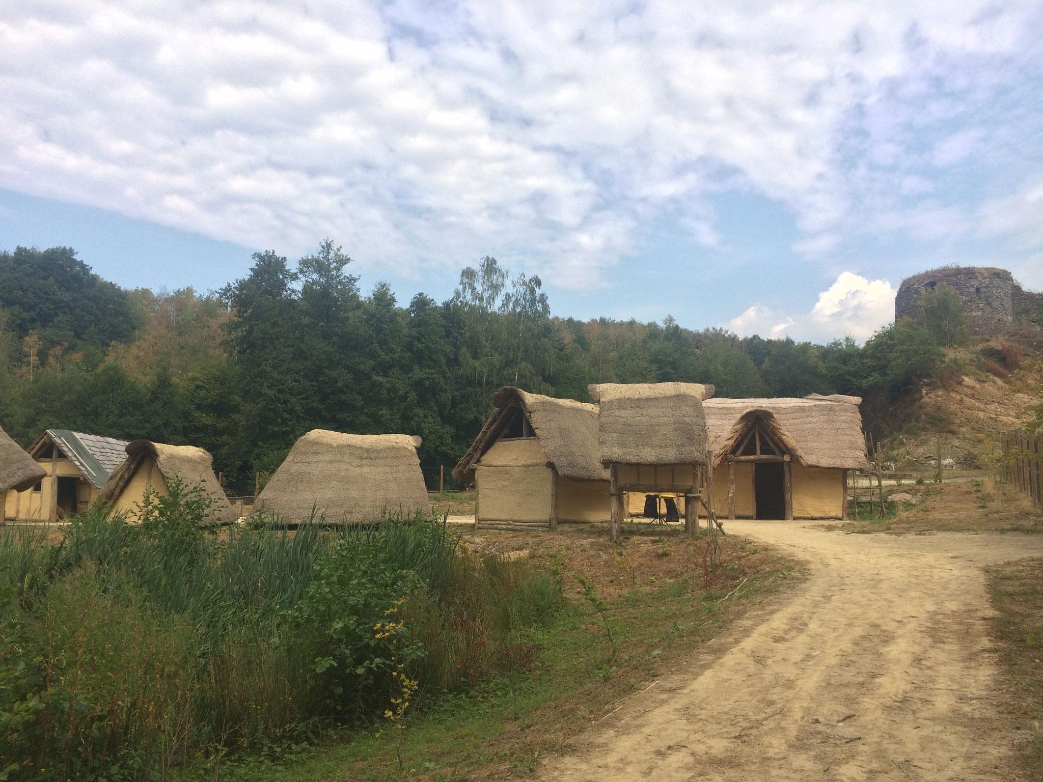 Village historique de Montcornet en Ardenne