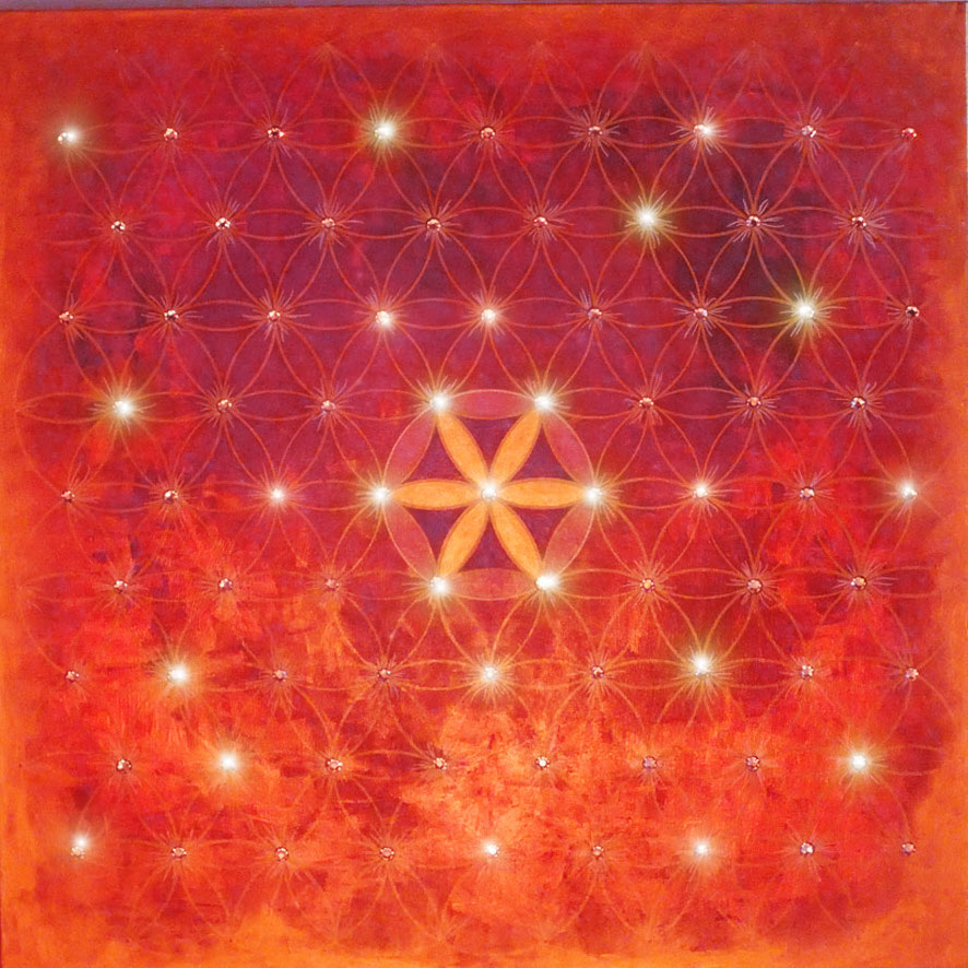07. Endless Flower of Life - RED