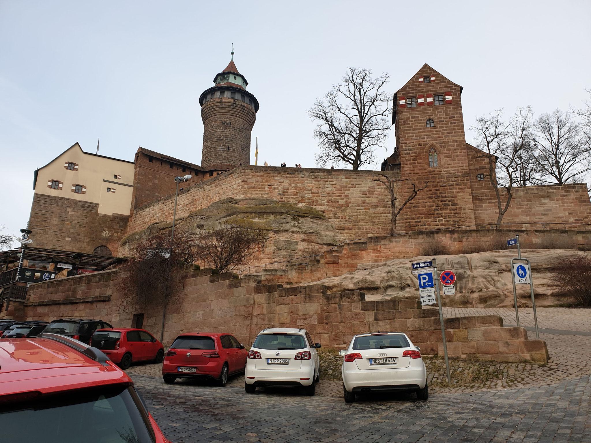 Kurzbesuch in Nürnberg am 25. Januar