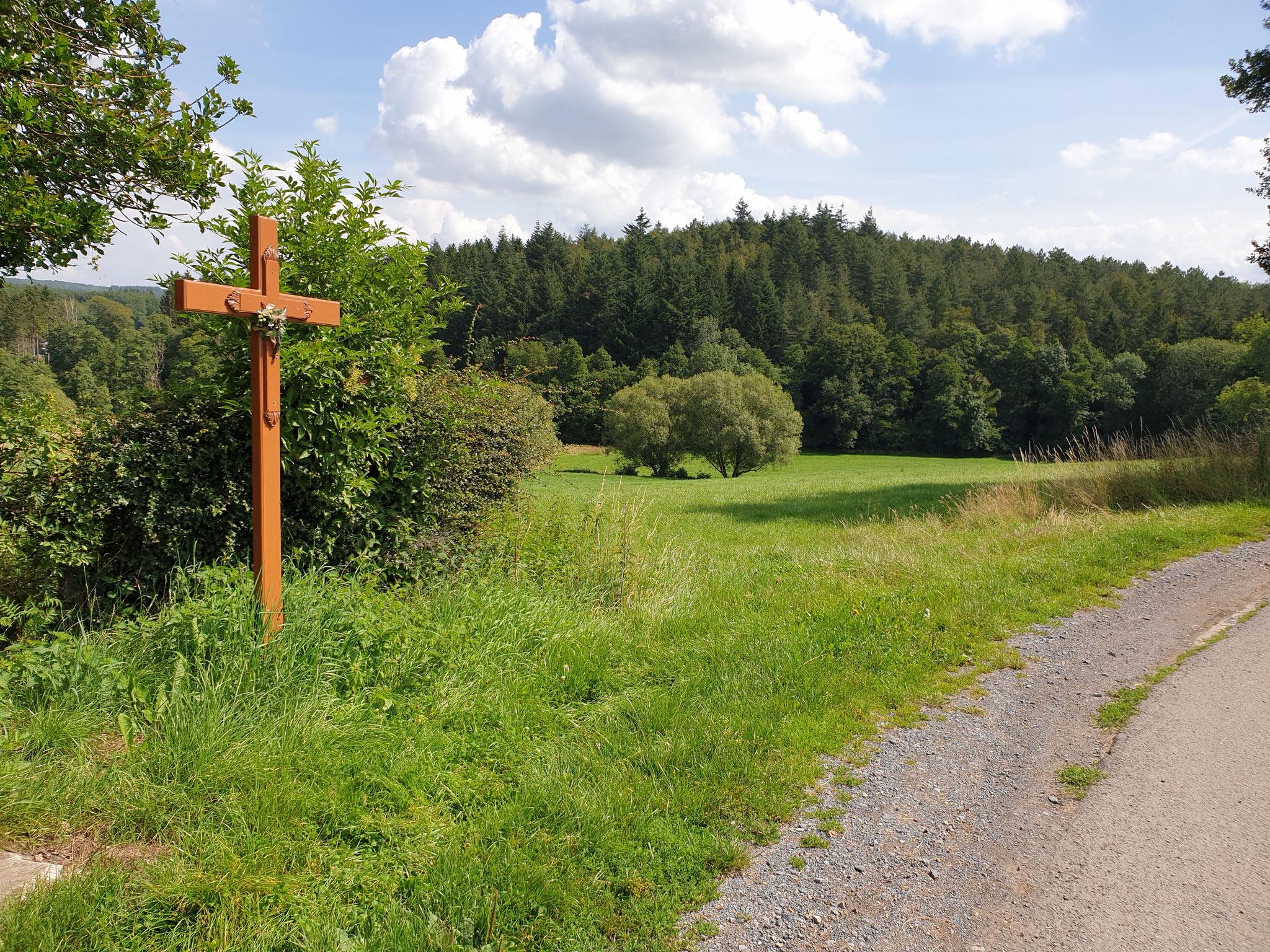 Kreuz an Prestert