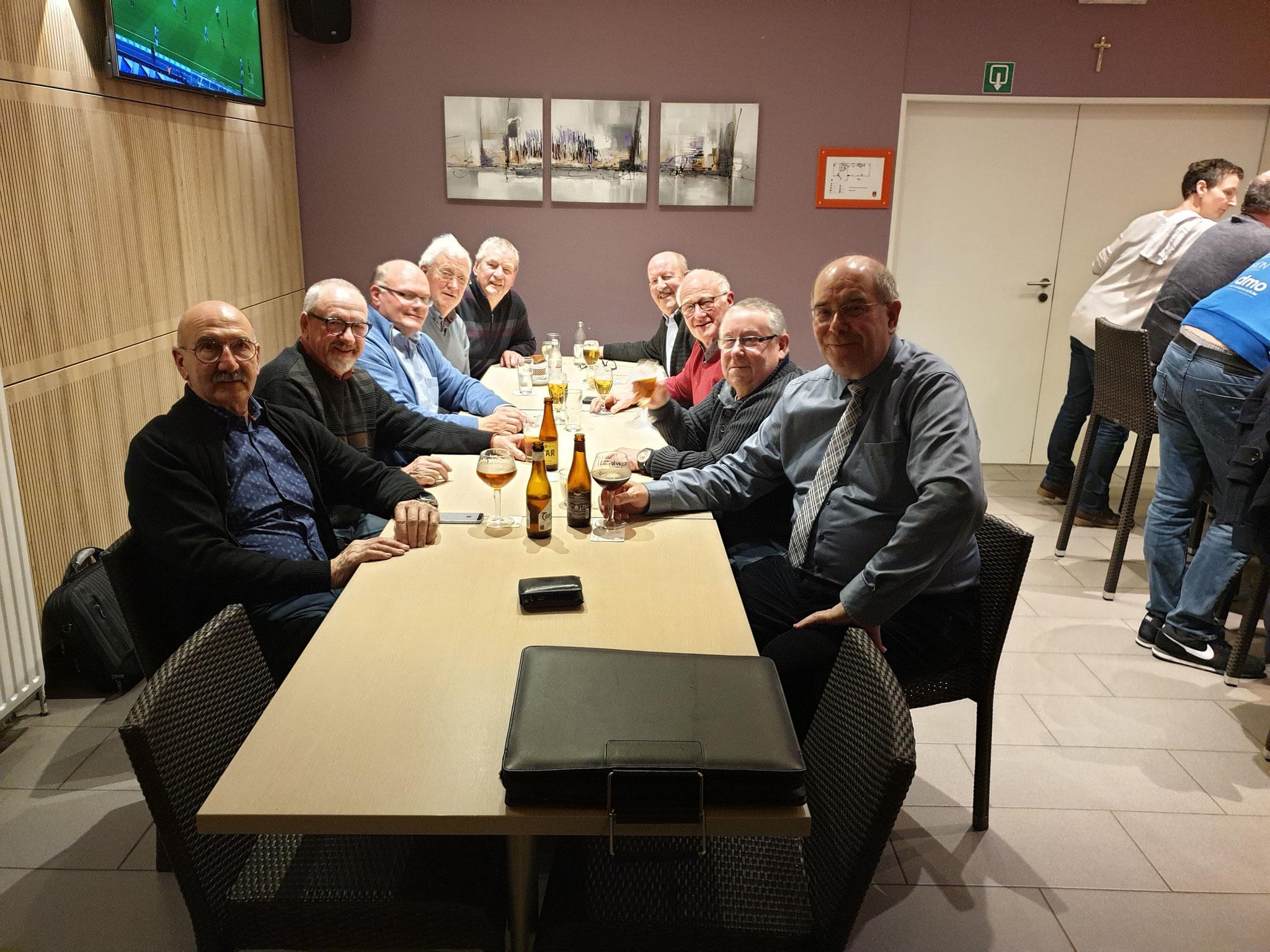 Bölderklub Treffen in der Mehrzweckhalle