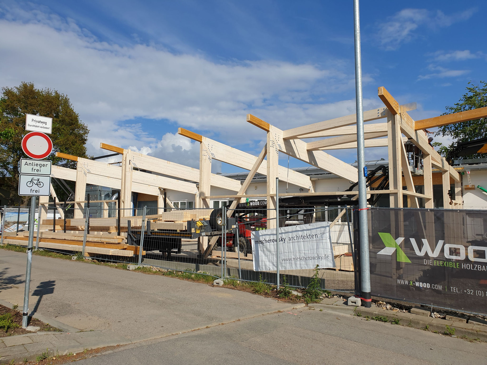 Holzbau von X-Woods Büllingen