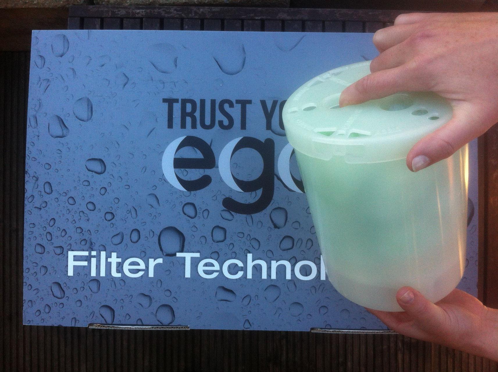 Filter reinigen