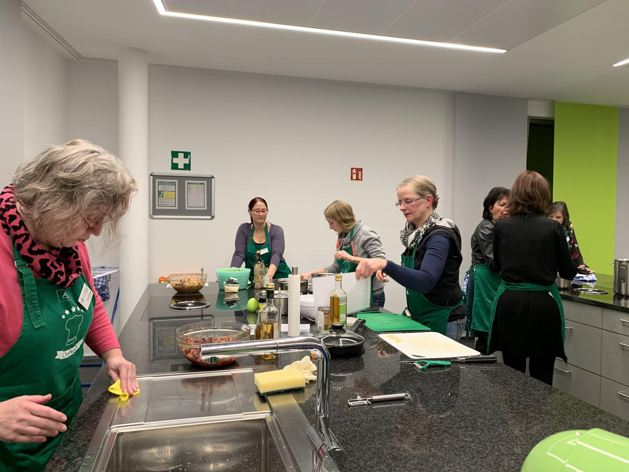 11-2019 Veggie, Vegan und Co. bei der AOK Rastatt