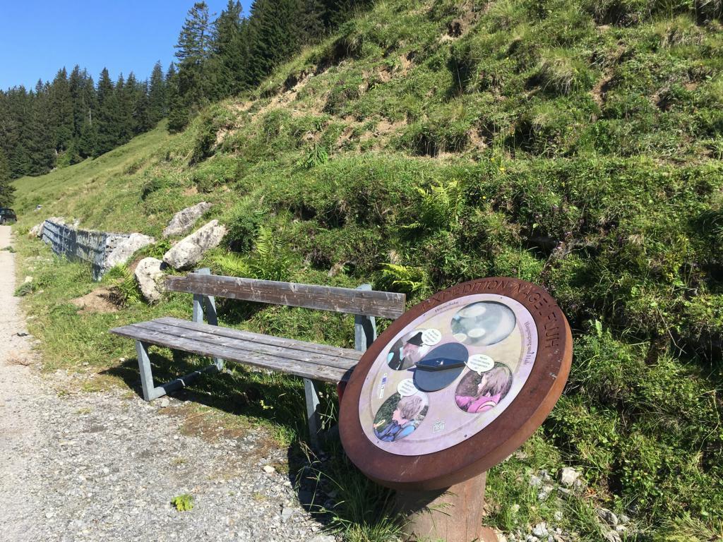 Auf dem Weg finden Sie viele interessante Stationen des Naturparks Nagelfluhkette