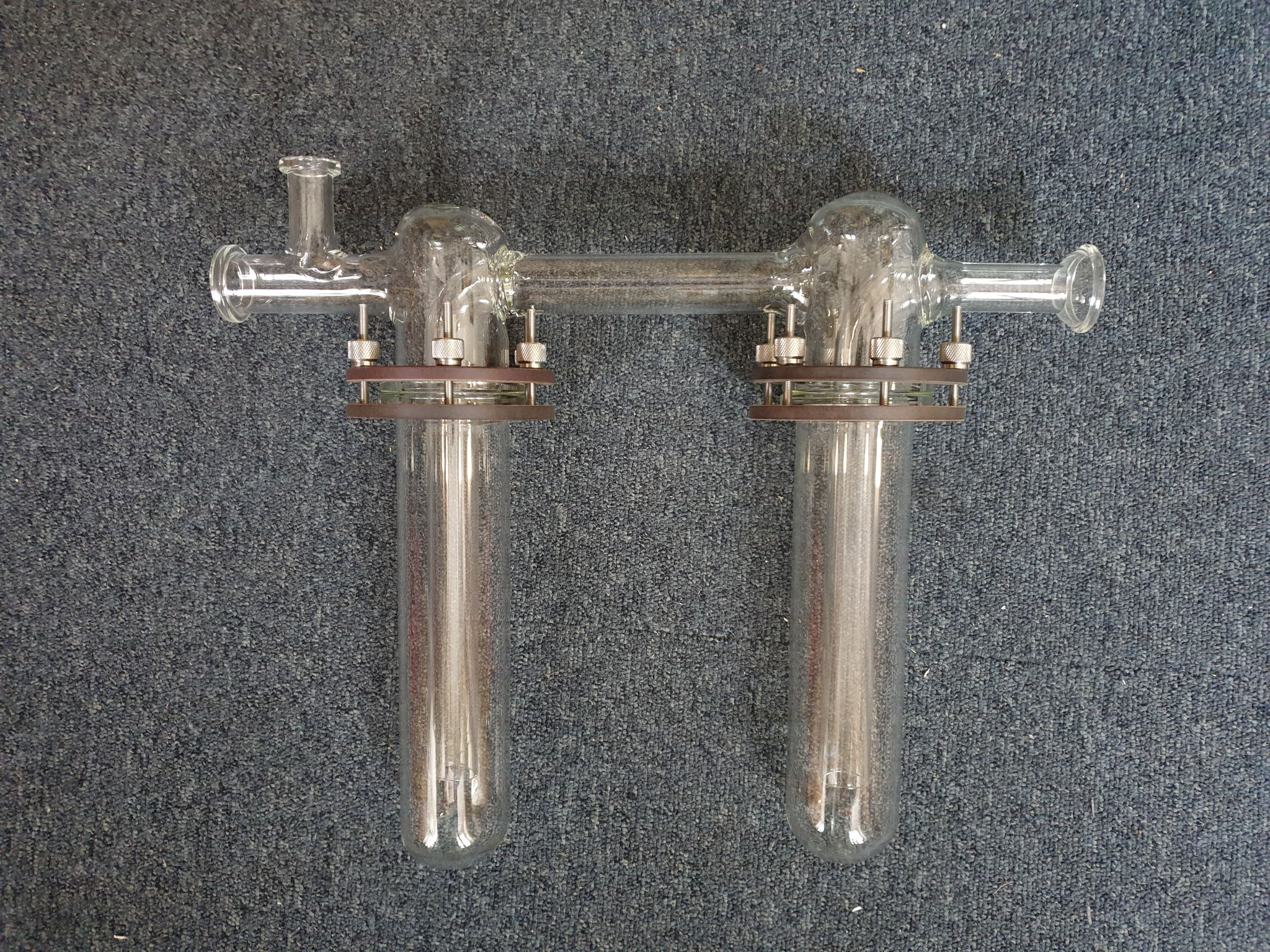 cooling trap, greaseless for Schlenkline