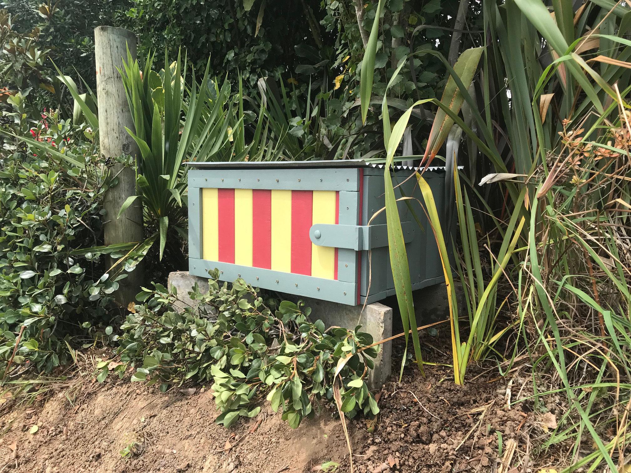 Paketlieferungsbox