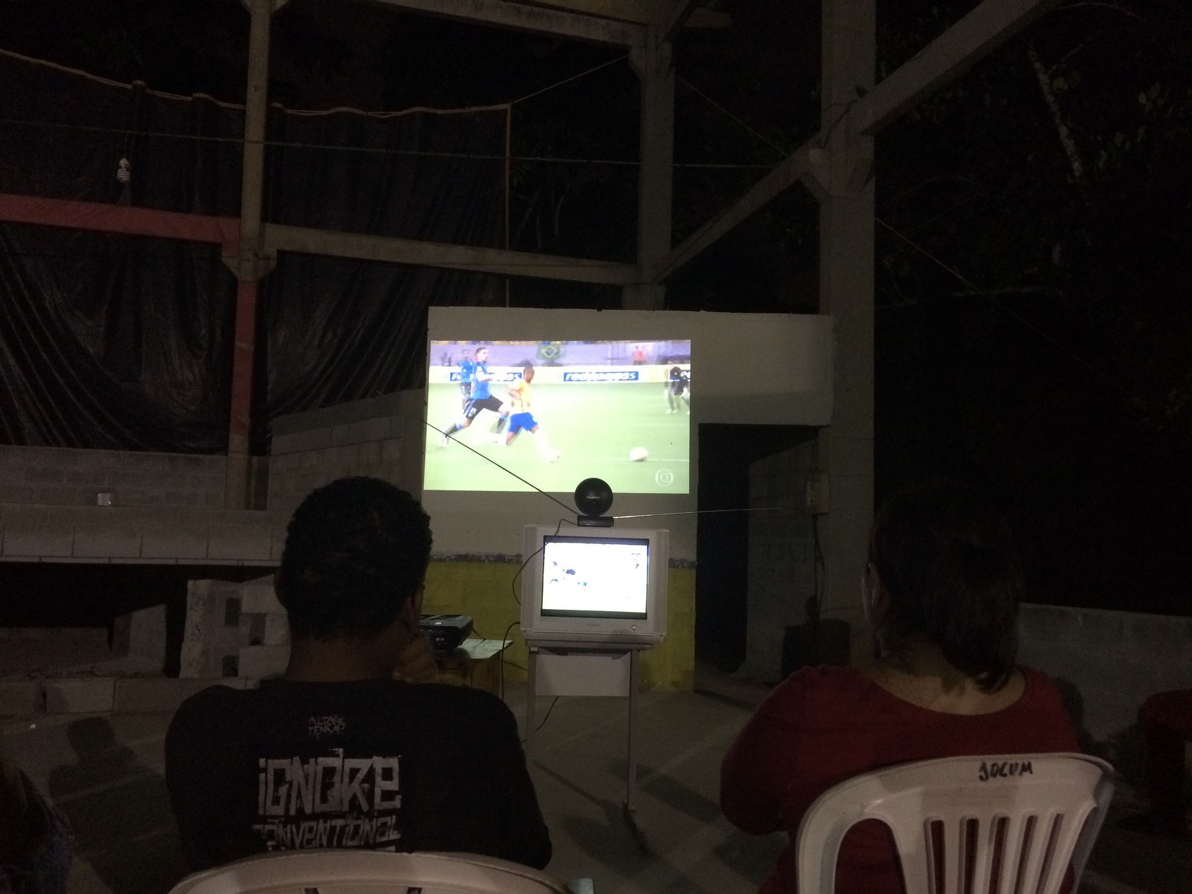 Brasil - Uruguay - leider nur 2:2... :-(