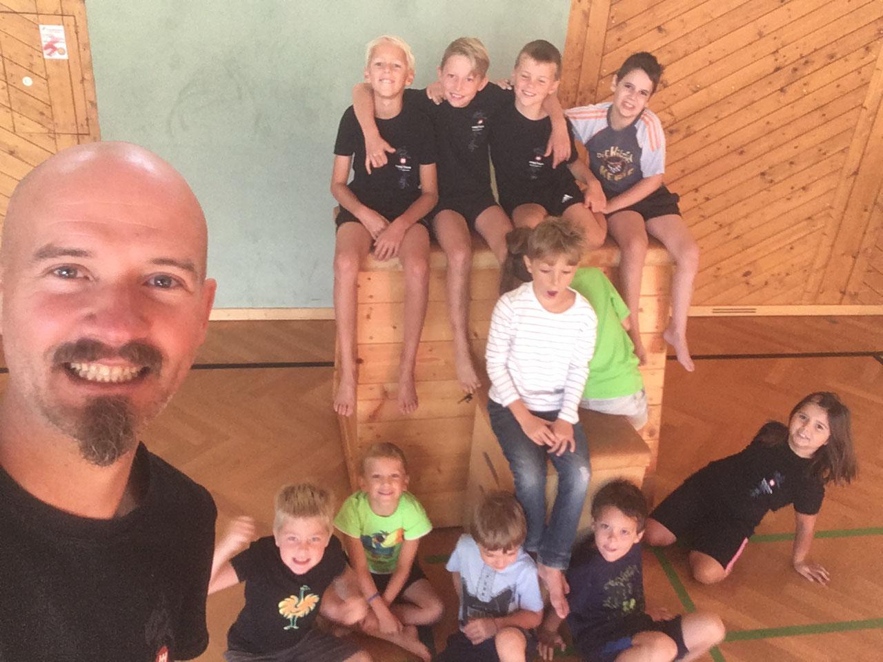 Kung Fu Kids Leiben