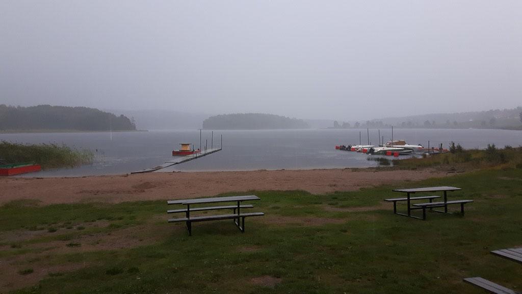 Ankunft Schweden - auch endlich Regen!