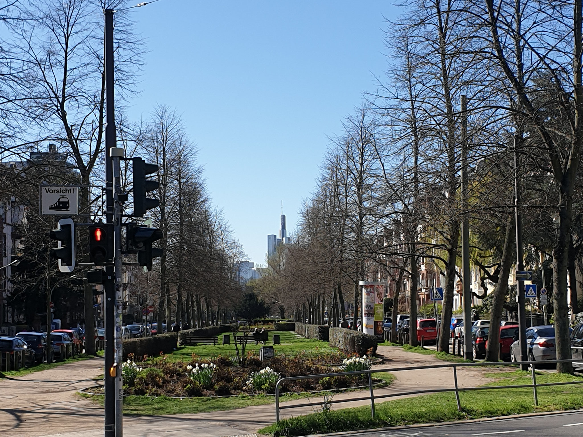 Günthersburgallee - ein Denkmal