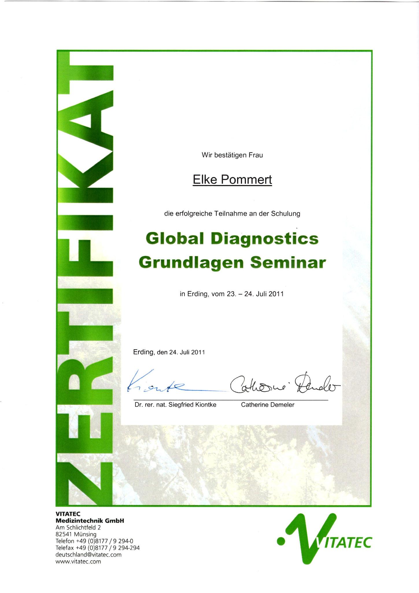 Global Diagnostics