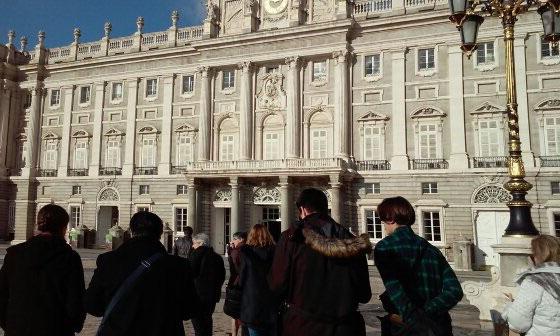 Paseando por el Palacio Real