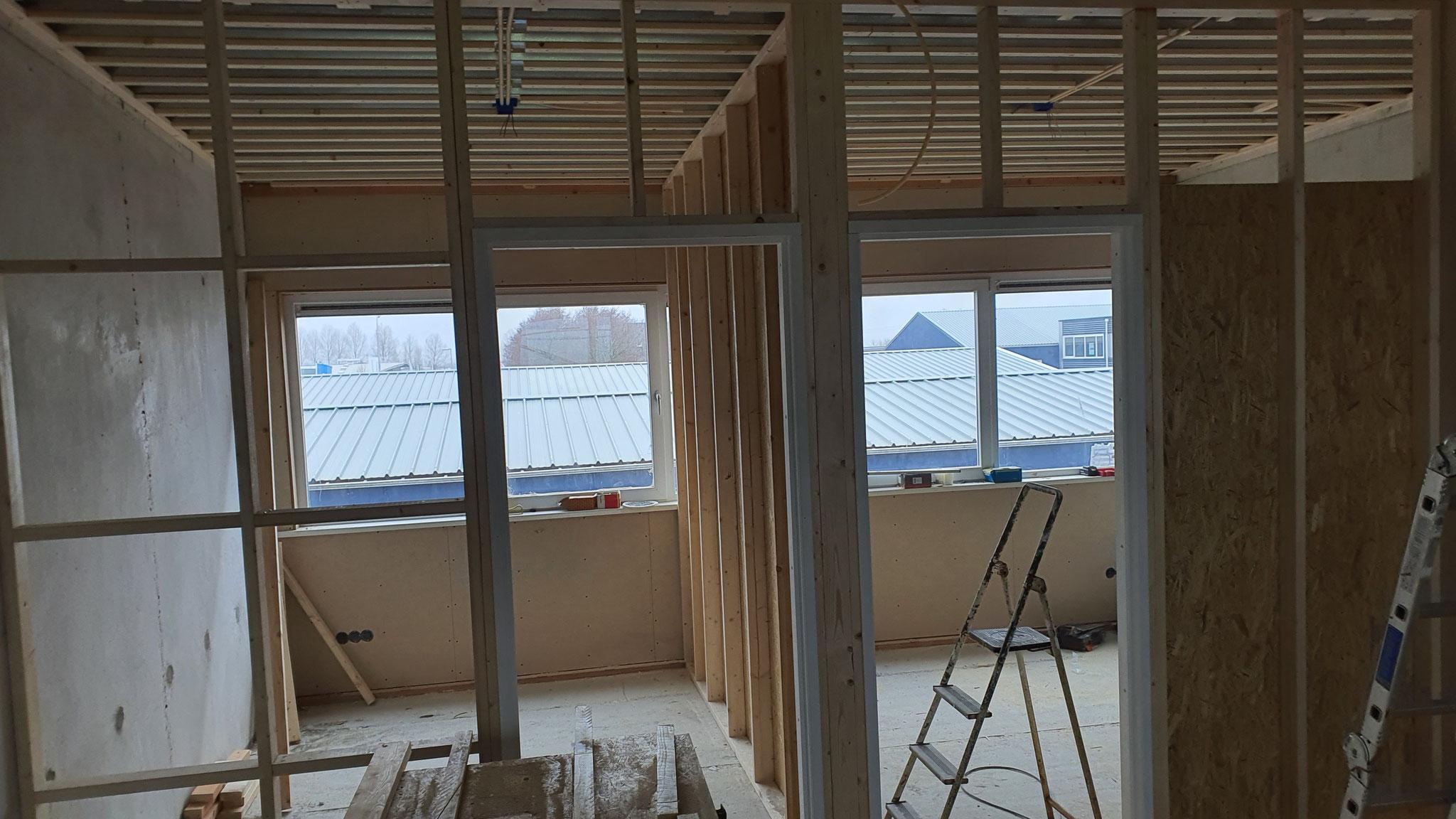 verdiepingen  vloer verbouwen   ( slaapkamer, badkamer, trapgat enz )