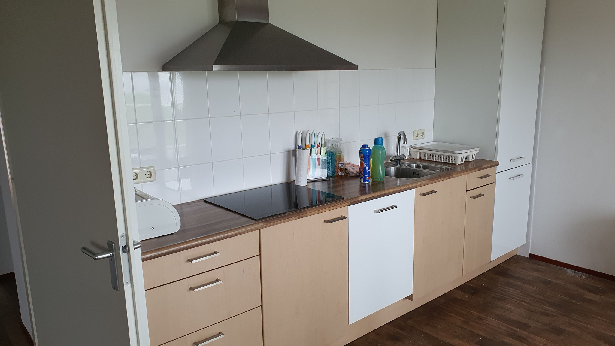 renovatie keuken voor  ( ontwerp renovatie Simon Voorhout )