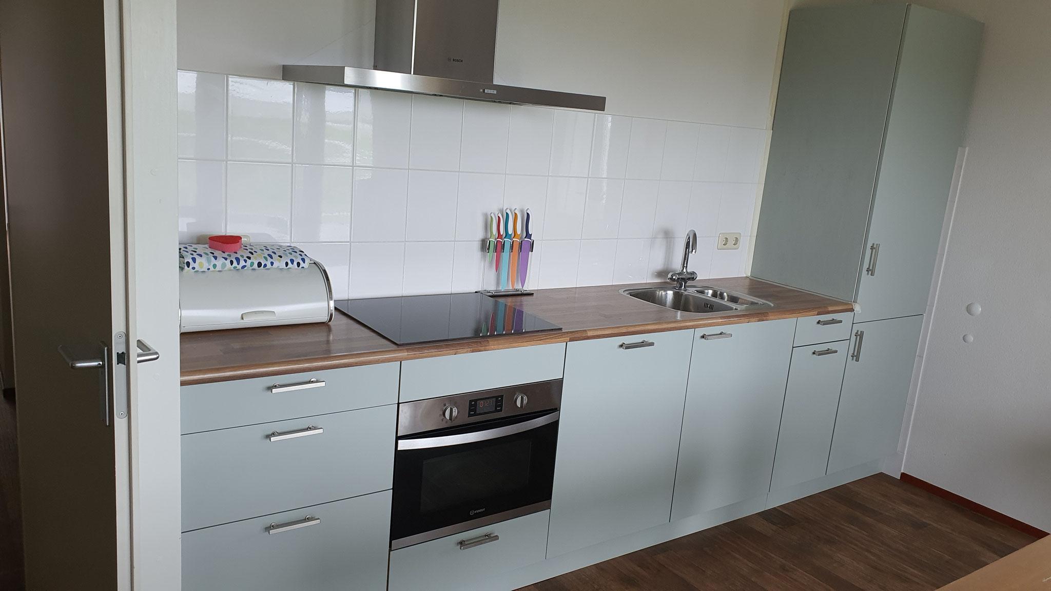renovatie keuken na     ( ontwerp renovatie Simon Voorhout )