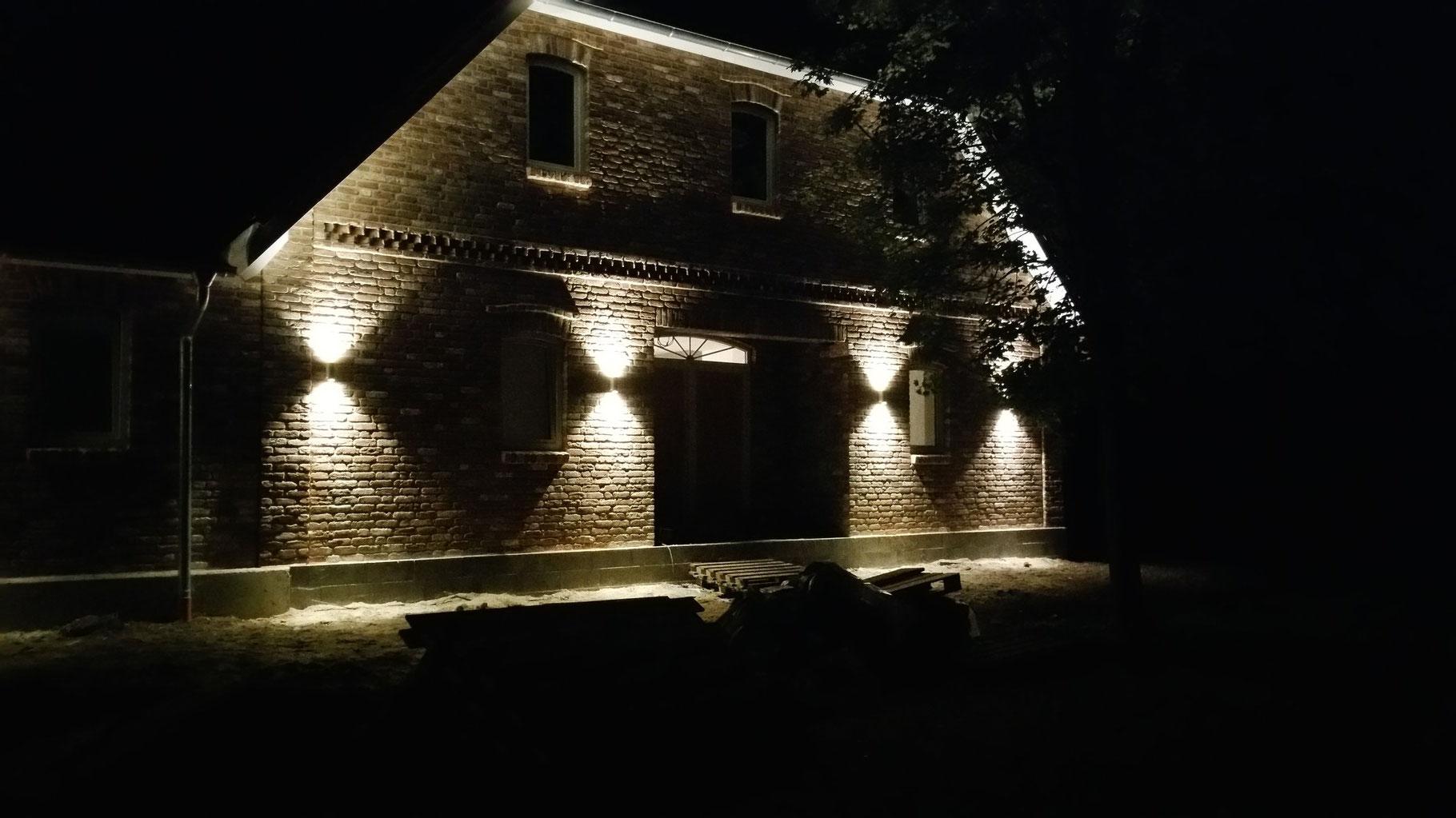 Außenbeleuchtung LED Technik