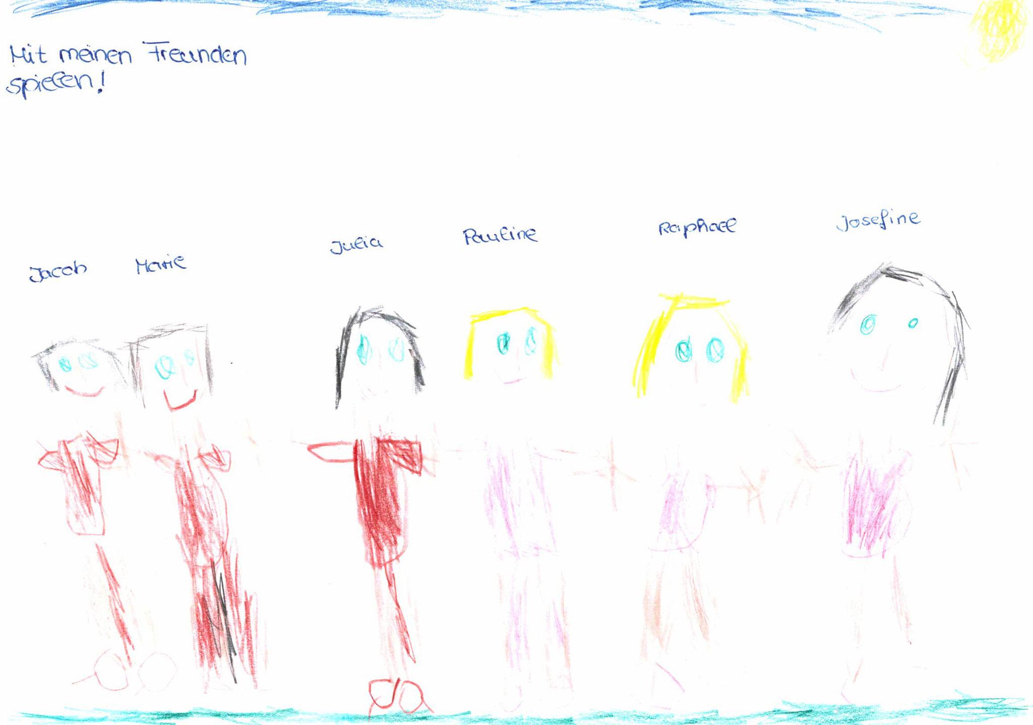 Josefine Semmler, 5 Jahre, Zell
