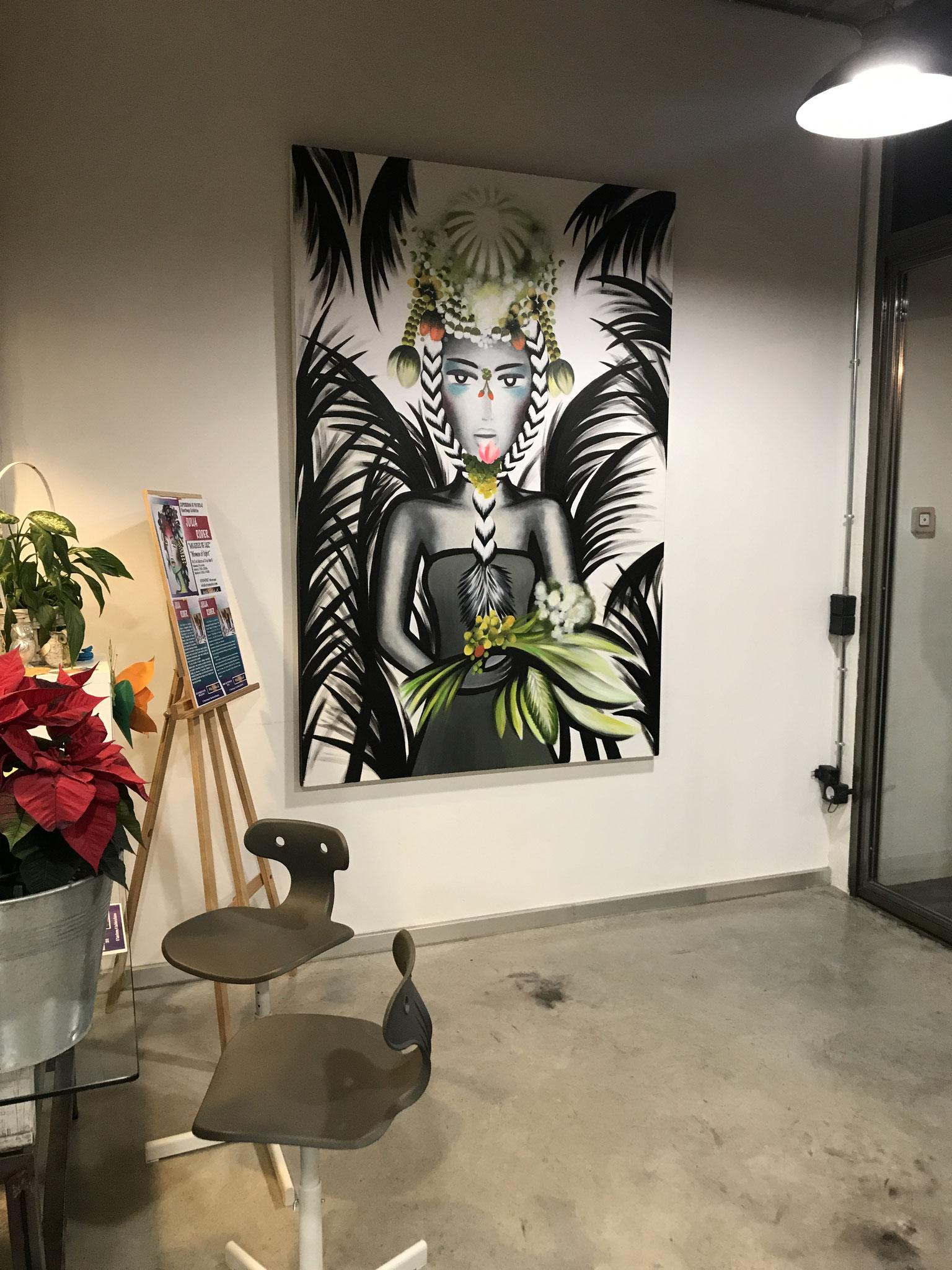 """EXPOSICIÓN ARTISTA JULIA RODER """"MUJERES DE LUZ"""", MARZO 2019"""