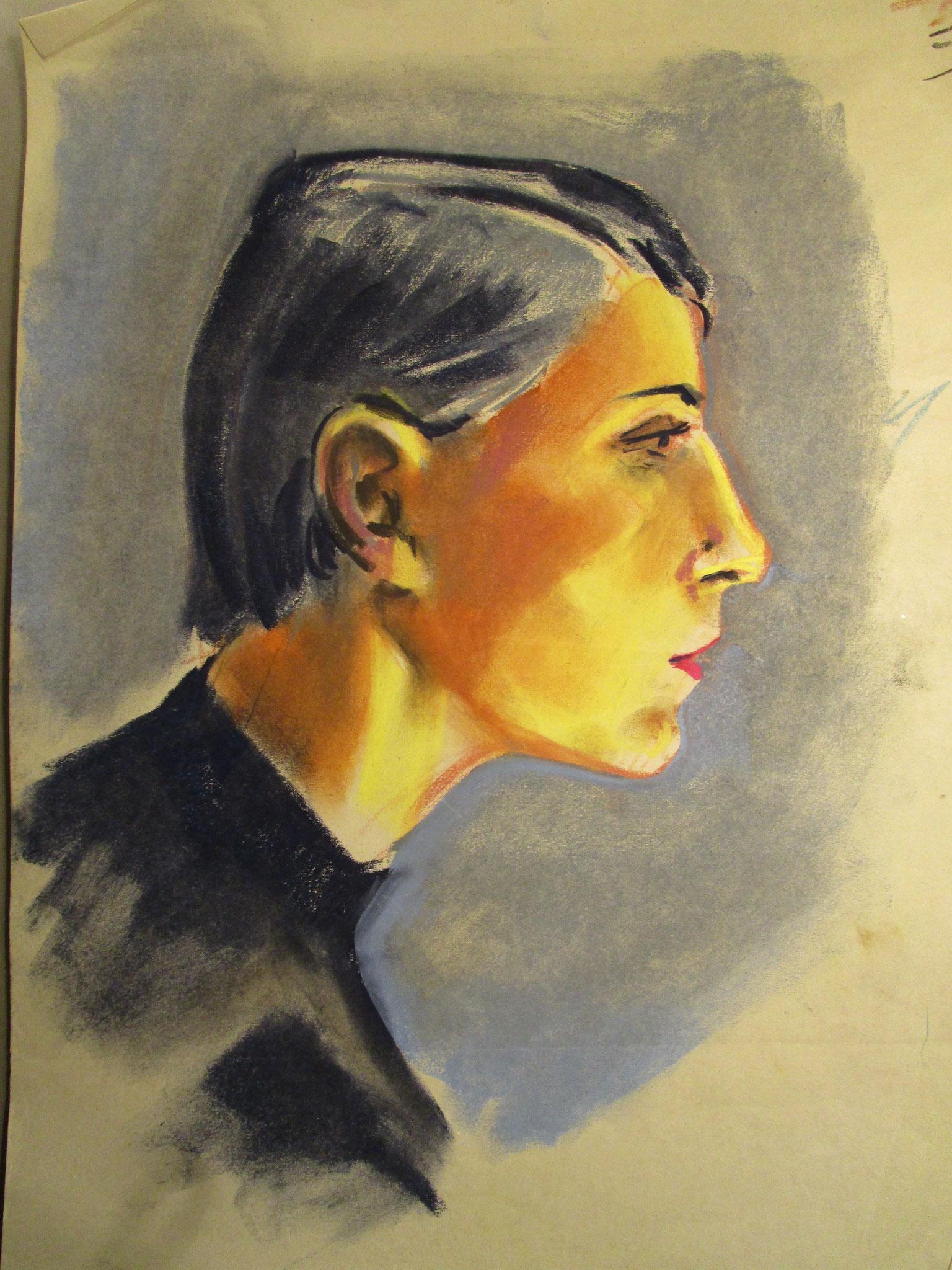 Portrait Frau 1958