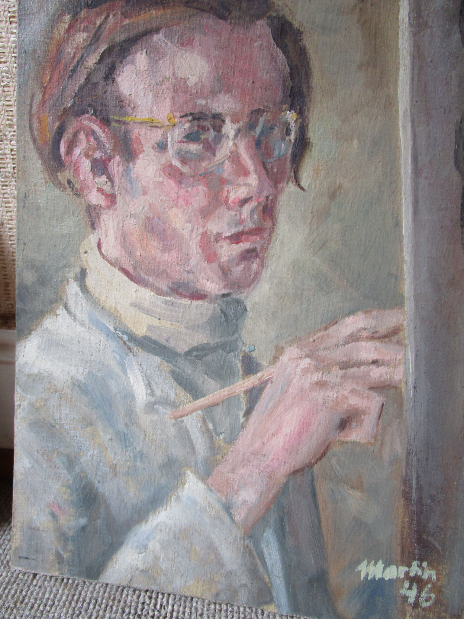 Portrait JH von H.J.  Martin