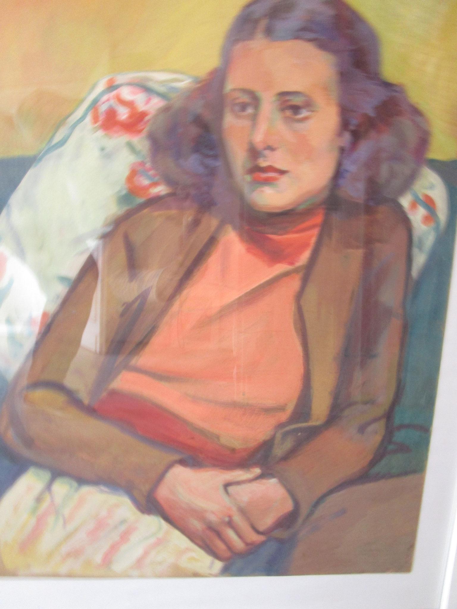 Portrait Ehefrau Doris