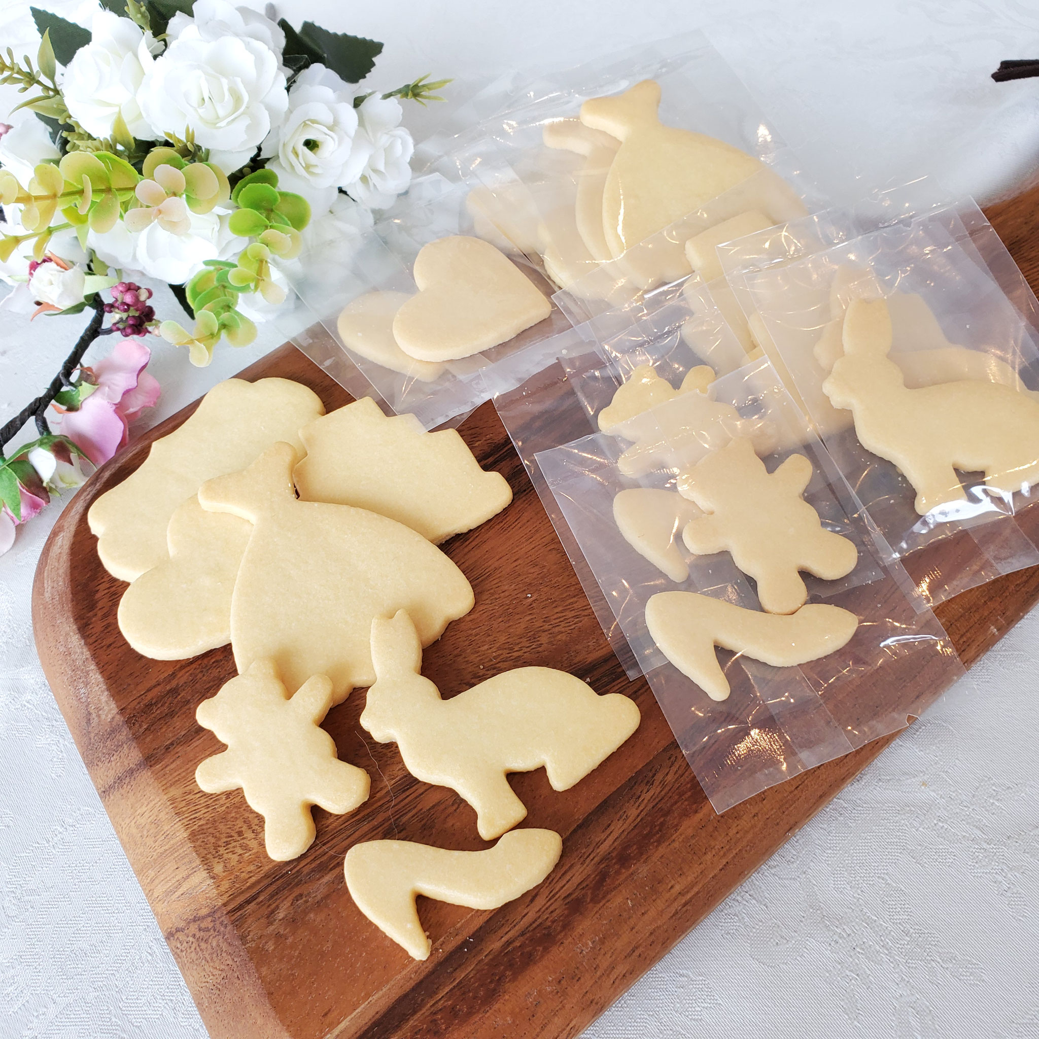 キットで届けられるハピシエオリジナルクッキー
